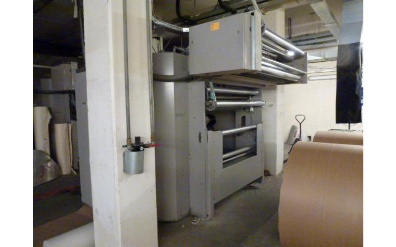 1995 MAN GEOMAN Cold - set web offset printing machine